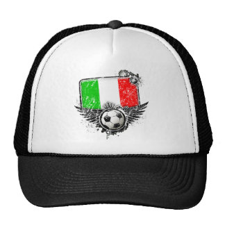 Aficionado al fútbol Italia Gorro De Camionero