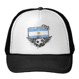 Aficionado al fútbol la Argentina Gorro