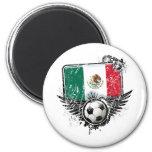 Aficionado al fútbol México Iman Para Frigorífico