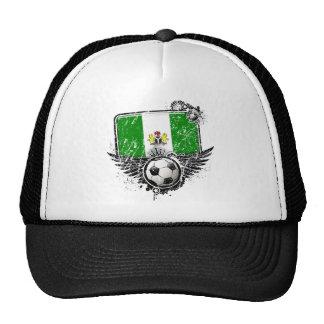 Aficionado al fútbol Nigeria Gorros