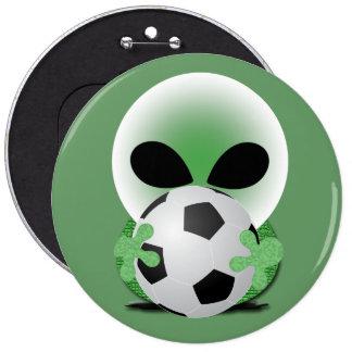 Aficionado al fútbol pin
