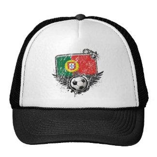 Aficionado al fútbol Portugal Gorras De Camionero