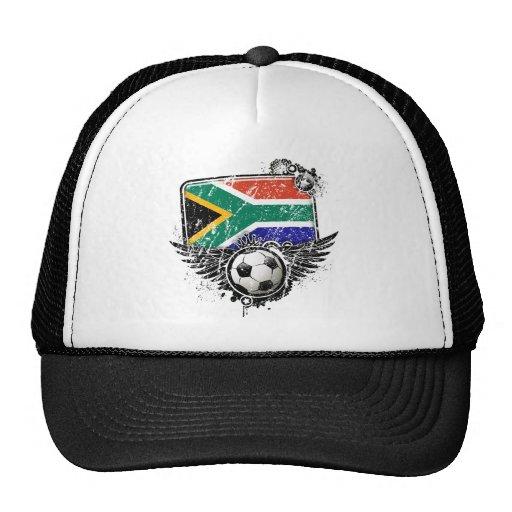 Aficionado al fútbol Suráfrica Gorras