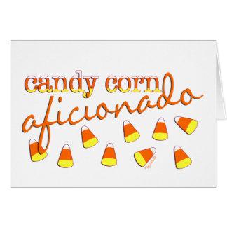 Aficionado de las pastillas de caramelo tarjeta de felicitación