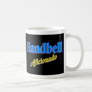 Aficionado del Handbell Taza De Café