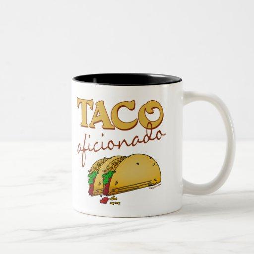 Aficionado del Taco Taza De Café