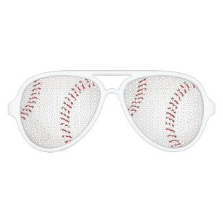 Aficionado deportivo del béisbol el | gafas de sol