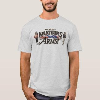¡Aficionados a los brazos! Camiseta