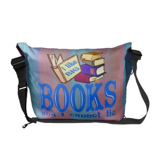 Aficionados a los libros bolsas messenger