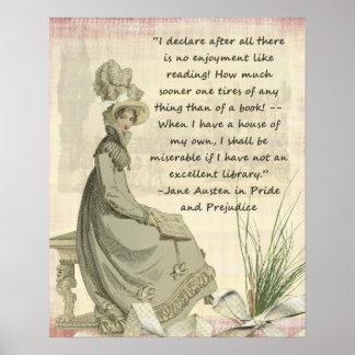 Aficionados a los libros de Austen Póster