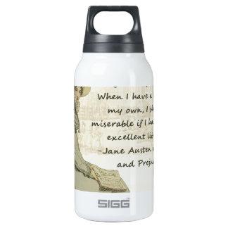 Aficionados a los libros de Jane Austen Botella Isotérmica De Agua