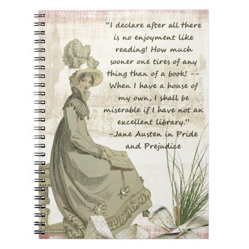 Aficionados a los libros de Jane Austen Libro De Apuntes