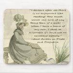 Aficionados a los libros de Jane Austen Tapetes De Ratones