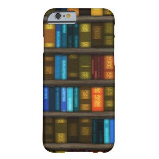 Aficionados a los libros y libros coloridos de los funda de iPhone 6 barely there