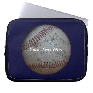 Aficionados al béisbol adaptables mangas computadora