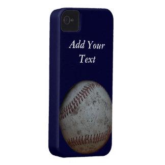 Aficionados al béisbol adaptables iPhone 4 Case-Mate fundas