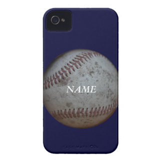 Aficionados al béisbol ** añada un nombre ** iPhone 4 Case-Mate cárcasa