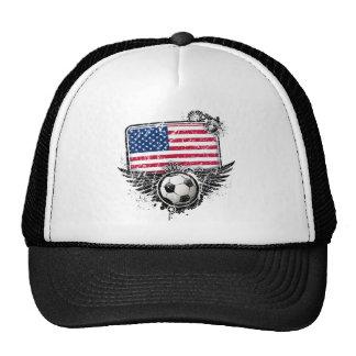 Aficionados al fútbol los E.E.U.U. Gorra