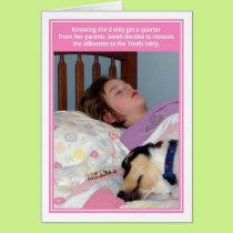 Afikomen Ransom Tooth Fairy Passover Card