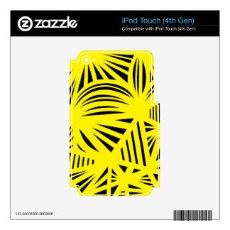 Afilado justo optimista tolerante iPod touch 4G calcomanía