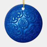 Afiligranado - azul ornamentos para reyes magos