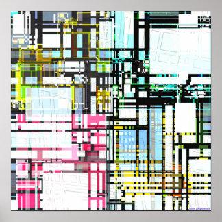 Afinidad estructural 1,7 póster