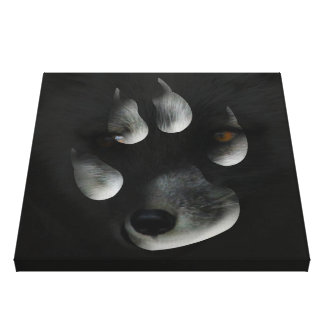 AFIPP Arctic Fox in Paw Print