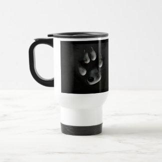 AFIPP Arctic Fox in Paw Print Travel Mug