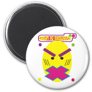 Afirican Funky Mask 2 Inch Round Magnet