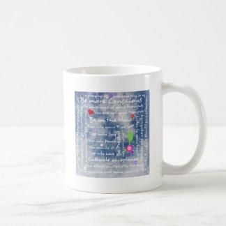 Afirmaciones positivas espirituales tazas de café