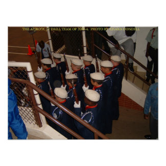 AFJROTC JV DRILL TEAM OF 2003-04 POSTER