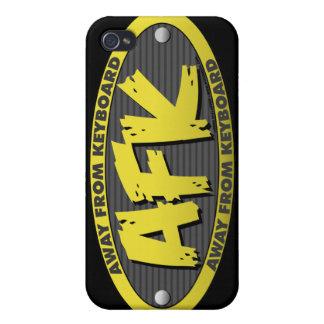 AFK Black iPhone 4 Case