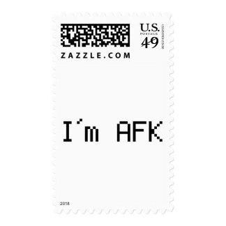 afk del i´m - awy del teclado sello