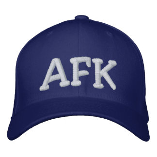 AFK EMBROIDERED BASEBALL CAPS