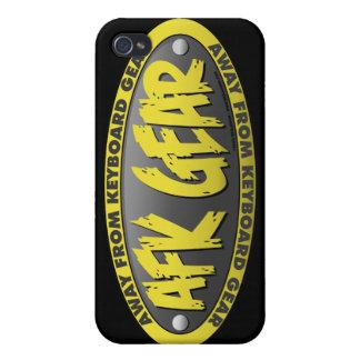 AFK Gear Black iPhone 4 Case