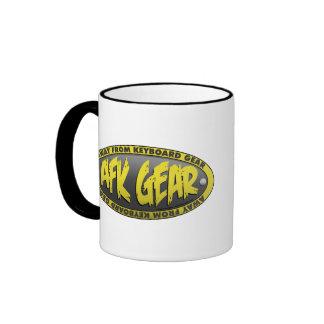 AFK Gear Black Mug