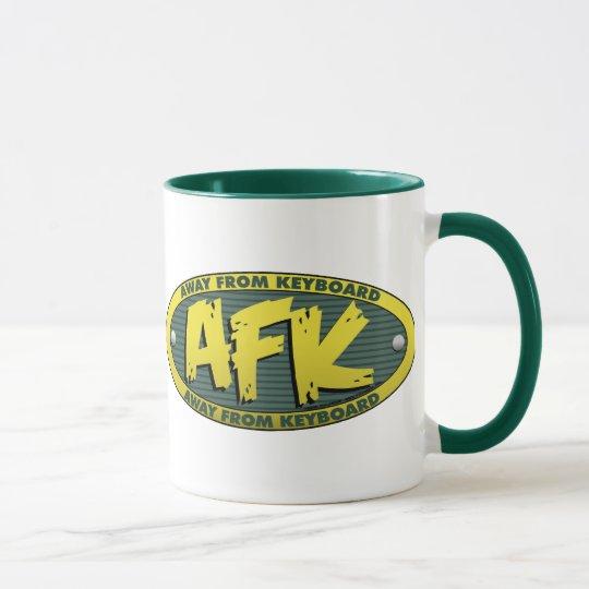AFK Green Mug