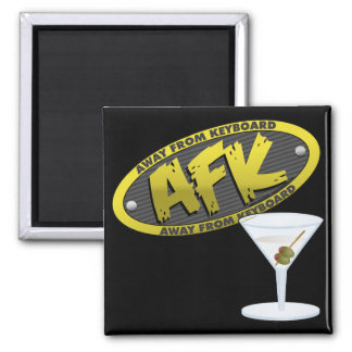 AFK Martini Magnet