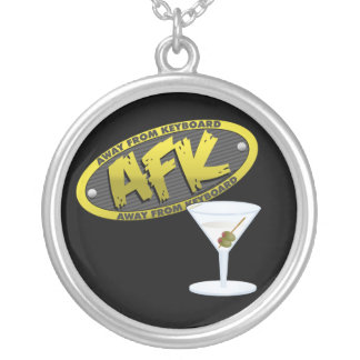 AFK Martini Necklace