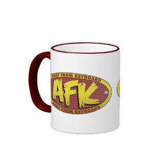 AFK Red Mug
