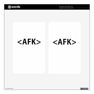 AFK KINDLE FIRE DECALS