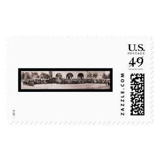 AFL Convention El Paso Photo 1924 Postage Stamps