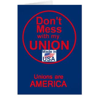 AFL UNIONS Card