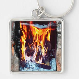 Aflame Keychain