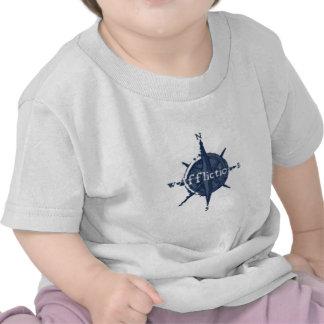 Aflicción de la estrella azul camisetas