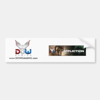 Aflicción, logoDOWteam, www.DOWGAMING.com Pegatina De Parachoque