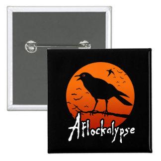 Aflockalypse Now 2 Inch Square Button