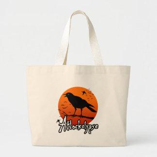 Aflockalypse Now Tote Bags
