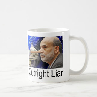 Afloramiento - mentiroso absoluto taza de café