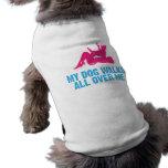 Afloramiento pequeno Griffon Vendeen Camisa De Perro